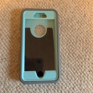 Accessories - iPhone 6s Heavy Duty Mint and Grey Phone Case